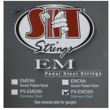 SIT Strings Pedal Steel Guitar Stainless Steel 10 String, .010 - .068, PSEM-C6th