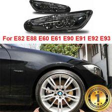 BMW M LED Marker Lights Turn Signals E82 E88 E60 E61 E90 E91 E92 E93 Side Black