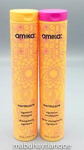 Amika Normcore Signature Shampoo + Conditioner Set
