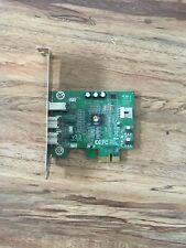 SIIG 3-Port FireWire 800 PCIe Card Model NN-E38012-S3