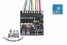 ESU 54620 LokPilot Fx V4.0, functional decoder MM/DCC/SX, 8-pin plug NEM652, cab