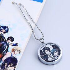 Black Butler Kuroshitsuji Anime Manga Metall Anhängeruhr Uhr mit Kette Neu