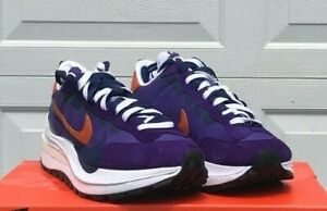 Nike VaporWaffle x Sacai Dark Iris DD1875-500 Size 10.5