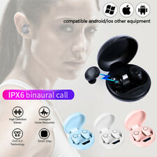 Smart Wireless Mini Earbuds TWS 5.0 Headsets Stereo Earphone for IOS Android