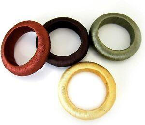 Autumn Harvest Yarn Wrap Napkin Rings (Set of 12)
