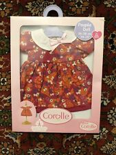 """Corolle Baby Doll Clothing Set for 14-15"""" Doll Cherry Dress NEW IN PACKAGING"""