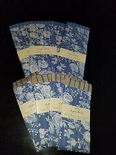 Lot of 8 Each Hallmark Signature Guest Towels/Napkins & Placemats Blue Rose
