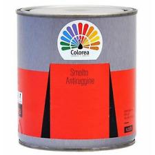 Colorea vernice smalto + antiruggine vari colori 0,750 lt per ferro e legno