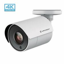 Amcrest UltraHD 4K 8MP Bullet Outdoor Security Camera 3.6mm Lens 87° Wide Angle