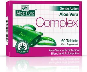 Aloe Pura Gentle Action Complex Tablets 60