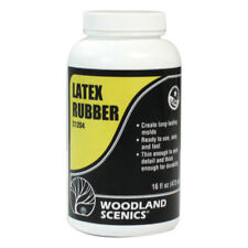 Woodland Scenics Model Railroad Landscape Latex Rubber (Liquid) - 16oz