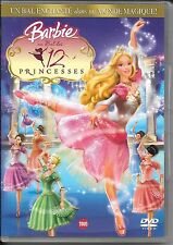 DVD ZONE 2--BARBIE AU BAL DES 12 PRINCESSES--GREG RICHARDSON