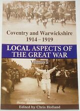 COVENTRY WW1 HISTORY Warwickshire Zeppelins Air Training Volunteers Nuneaton