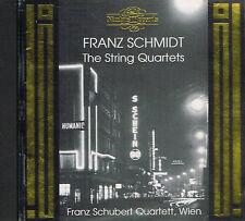 CD album: Franz Schmidt: Franz schubert Quartett, Wien. nimbus. J