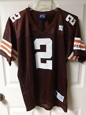 NWOT Champion Cleveland Browns Tim Couch # 2 Football Jersey Youth Large 14-16