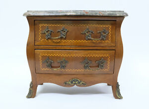 Antique Small Inlaid Satin Rosewood Chest of Drawers Louis XV – Chest of Mastery