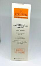 Collistar olio secco superabbronzante idratante spf15   200ml