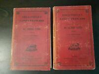 Histoire Naturale Di Plinio Volume 5&6 C. L.F.Panckocke Parigi 1829-30