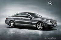 Mercedes CL 500 600 63 65 AMG Prospekt 2010 6/10 Coupe brochure prospectus Auto