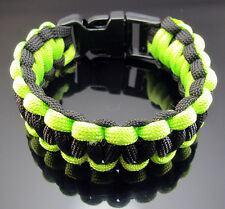 Free Wristbands Outdoor Camping Survival Strap Lifesaving Bracelets Lock Rope