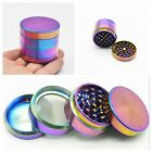 40mm Colourful Tobacco Grinder Herb/Spice/Weed Alloy Smoke 4 Piece Crusher