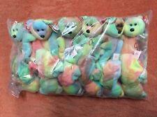 TY Beanie Baby Peace, 1 Dozen Wholesale Lot, NEW, PE Pellets, China, MWMT