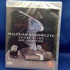Brand NEW!! SEALED! WALERIAN BOROWCZYK SHORT FILMS AND ANIMATION, BLU-RAY