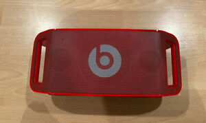 Dr. Dre Beats Beatbox Portable Speaker (Power And Other Cable Included!) - Red