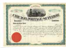 Chicago Portage and superior Railway Company