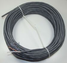 25m Coil Cat6 Cable GREY PVC SHEATH - 4 Pair 23AWG UTP Solid Copper