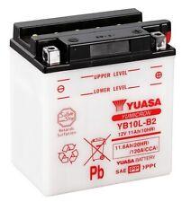 Yuasa YB10L-B2 Batterie 12V 11AH Motorrad Roller Quad (51113 FB10L-B2 CB10L-B2)