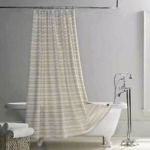 UGG Layla Shower Curtain 72 in. x 72 in. Purple & Yellow Multicolor Bathroom