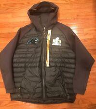 Nike Carolina Panthers Super Bowl 50 SB50 Aeroloft Jacket Coat 2XL XXL NWOT   450 3b90c0b5e