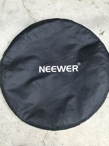 NEEWER Portable Pop Up Background Chromakey Green Blue Collapsible Backdrop