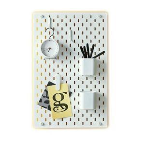 Ikea SKADIS Pegboard & Many Accessories For Kitchen Office Work Organizer Board