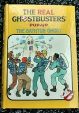THE REAL GHOSTBUSTERS POP-UP THE BATHTUB GHOST BOOK