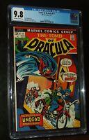 1973 TOMB OF DRACULA #11 Marvel Comics CGC 9.8 NM-M  Beautiful Classic Cover !