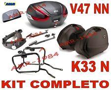 HONDA NC 700 X 2012  KIT 3 VALIGIE K33N + V47NN + TELAIO PLX1111 + 1111FZ + E134