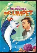 THE INCREDIBLE MR LIMPET Don Knotts DVD NEW
