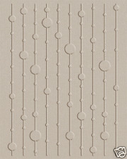 Lifestyle Crafts QuicKutz A2 Embossing Folder BEADS Lines,Dots,Texture EF-A2-066