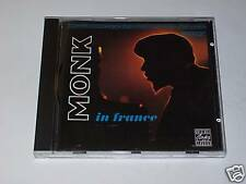 CD - THELONIOUS MONK - MONK IN FRANCE - Riverside 1991