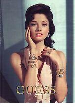 PUBLICITE ADVERTISING 2012  GUESS bijoux haute couture joailleries
