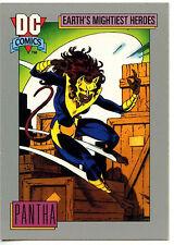 Pantha #68 Impel 1991 DC Comics Trade Card (C289)