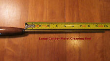 Large Caliber Pistol Cleaning Rod-One piece brass w/ ball & sleeve bearings