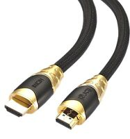 IBRA® 5M HDMI 2.0/v1.4A PREMIUM GOLD Cable HDTV 3D 2160P Full HD Lead 5 Metre