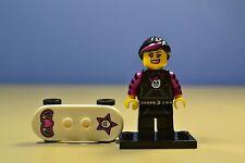 lego minifigures series 6 skater girl 8827