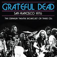 GRATEFUL DEAD New Sealed 2017 LIVE 1976 SAN FRANSISCO CONCERT 3 CD SET