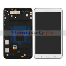 """For Samsung Galaxy Tab 4 7.0"""" SM-T230 White LCD Display Touch Digitizer + Frame"""