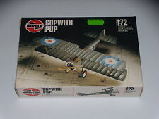 MAQUETTE - SOPWITH PUP - AIRFIX -  1/72 - MODEL KIT - COMPLETE
