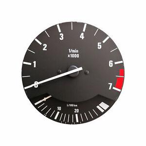Drehzahlmesser 7000 U/Min mit Verbrauchsanzeige Kombiinstrument Tacho BMW E30